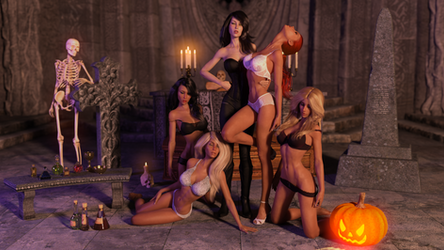Vampire and her Thralls (Widescreen)