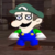 Luigi Unamused face