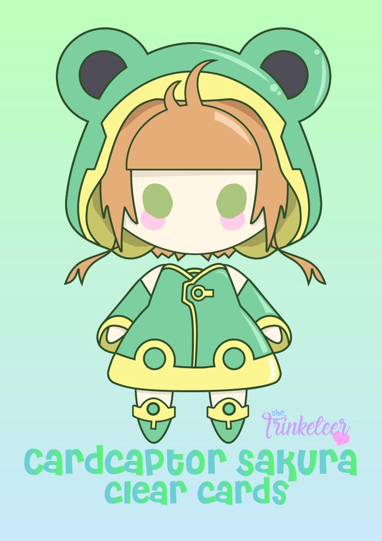 card captor sakura clear card frog outfit by ninslayer
