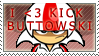 Stamp - I heart Kick Buttowski