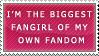 STAMP -I'm the biggest fangirl