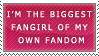 STAMP -I'm the biggest fangirl by capcappucca222