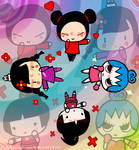 The Gals of Pucca