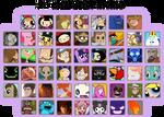 50 characters meme (new characters!)