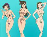 Kazuha, Ran, Sonoko - Special