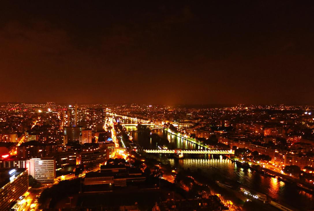 Paris At Night by Solsteyn