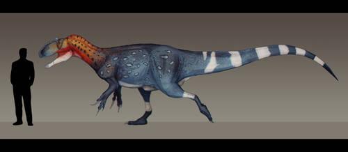 Allosaurus fragilis by Paleocolour