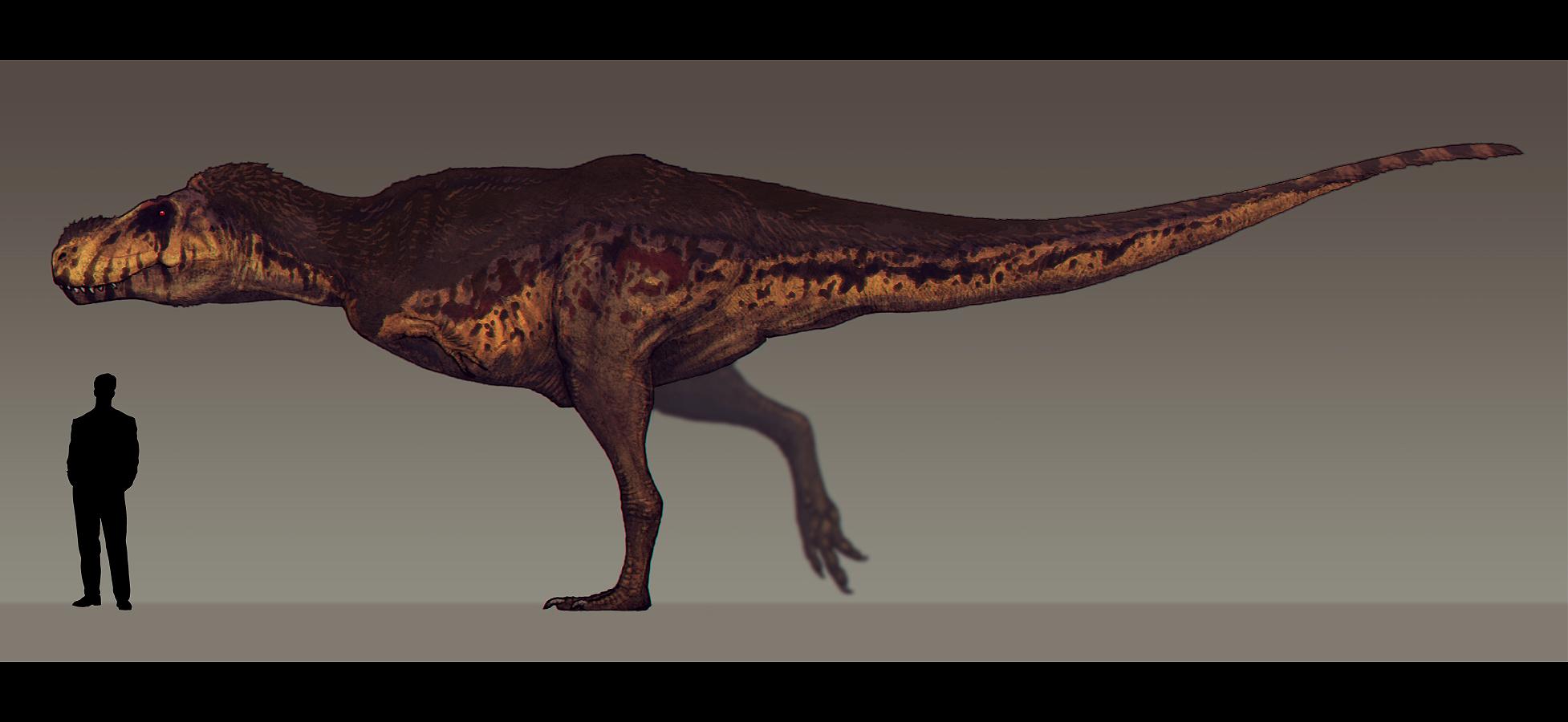 Tyrannosaurus rex by paleocolour on deviantart for Tyranosaurus rex