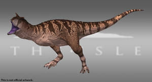 The Isle - Carnotaurus - Dune by Paleocolour