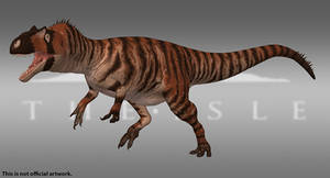 The Isle - Allosaurus - Tiger by Paleocolour