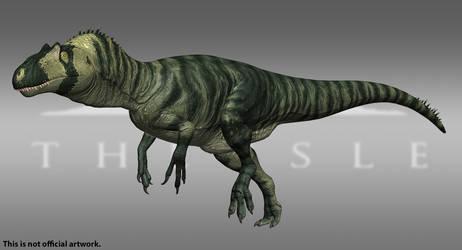 The Isle - Allosaurus - Forest