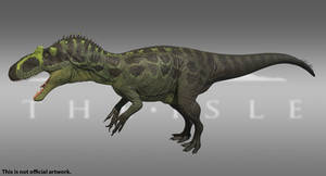 The Isle - Allosaurus - Greenhorn by Paleocolour