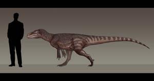Gasosaurus constructus by Paleocolour