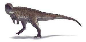 Eoabelisaurus mefi by Paleocolour