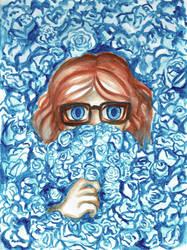 Blue Flowers by Sinokay