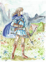 Link ~ Breath of the Wild by Sinokay