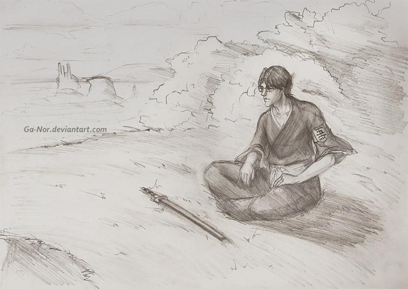 lieutenant Aizen by Ga-Nor