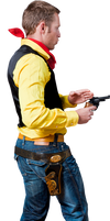 Lucky Luke Cowboy Stock by pixelmixtur-stocks