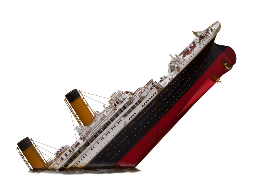 Titanic PNG Stock by pixelmixtur-stocks