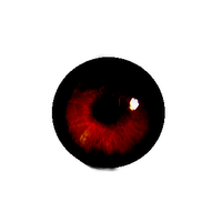 ojo rojo by kamilitapiglet