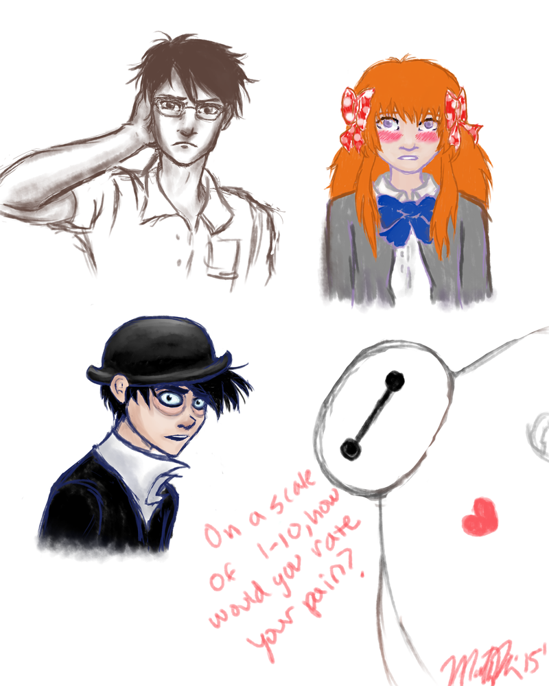 Sketchdump by madster865