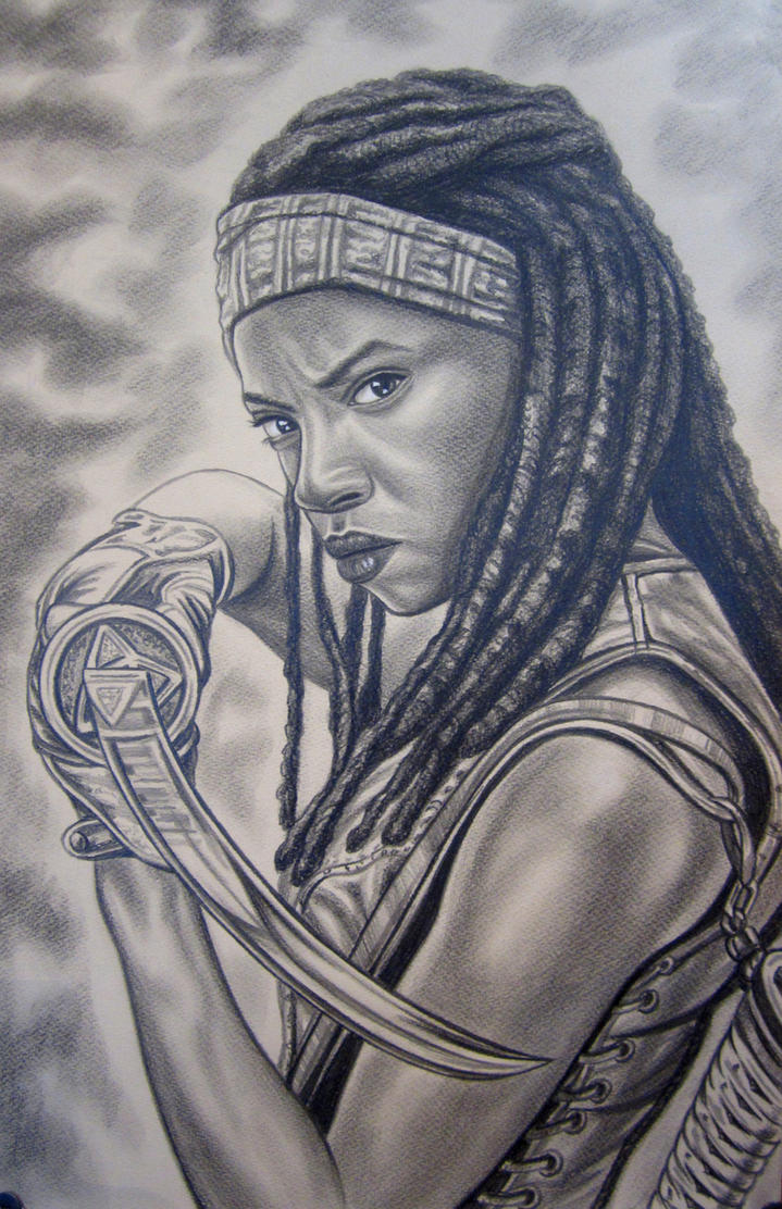 Walking dead- Michonne by vadim79vvl