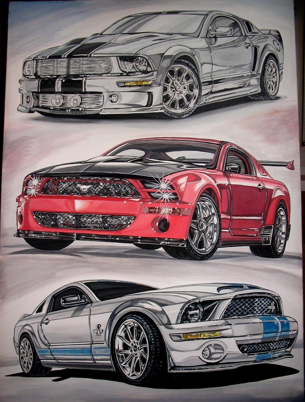 Ford Mustang-2 by vadim79vvl