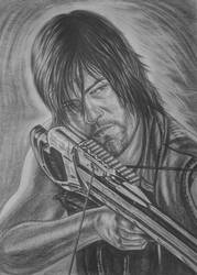 the walking dead- Daryl Dixon by vadim79vvl