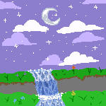 Night Sky Pixel