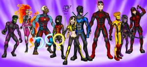 Justice League 2 Teen Titans