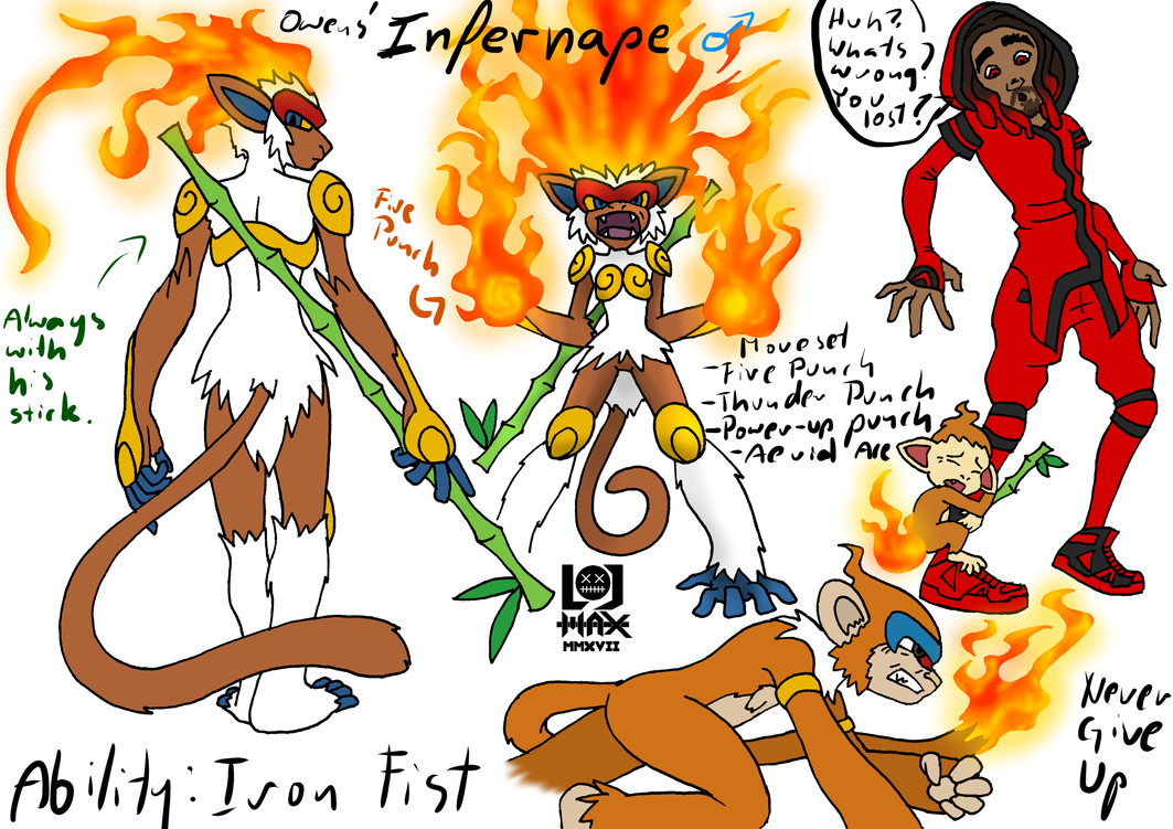[Obrazek: owens__infernape_concept_art_by_hlontro-day77in.png]