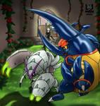 Bug Type Gym Battle by Hlontro
