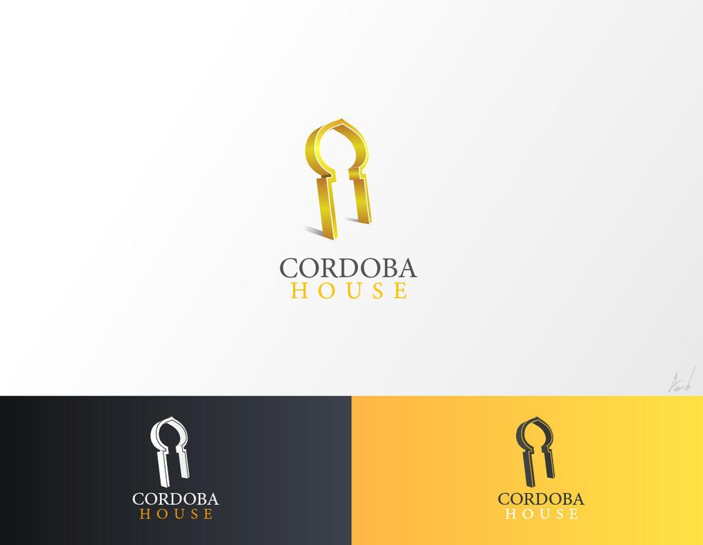 Cordoba house logo concept by M053AB