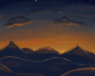 Montains by Allann-Ds
