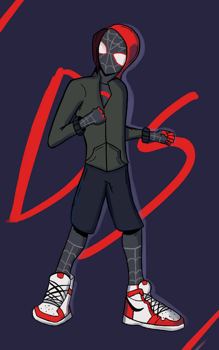 Miles Morales by Allann-Ds