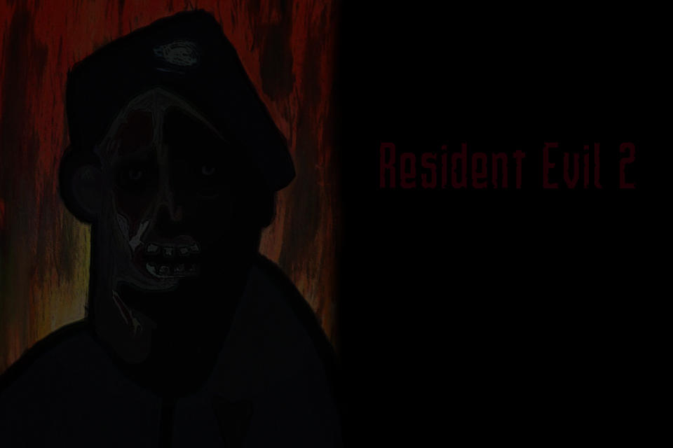Resident Evil 2 Photoshop Express