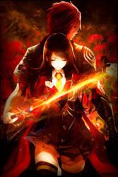 Akai Katana Shin Tag by zAdventGFX