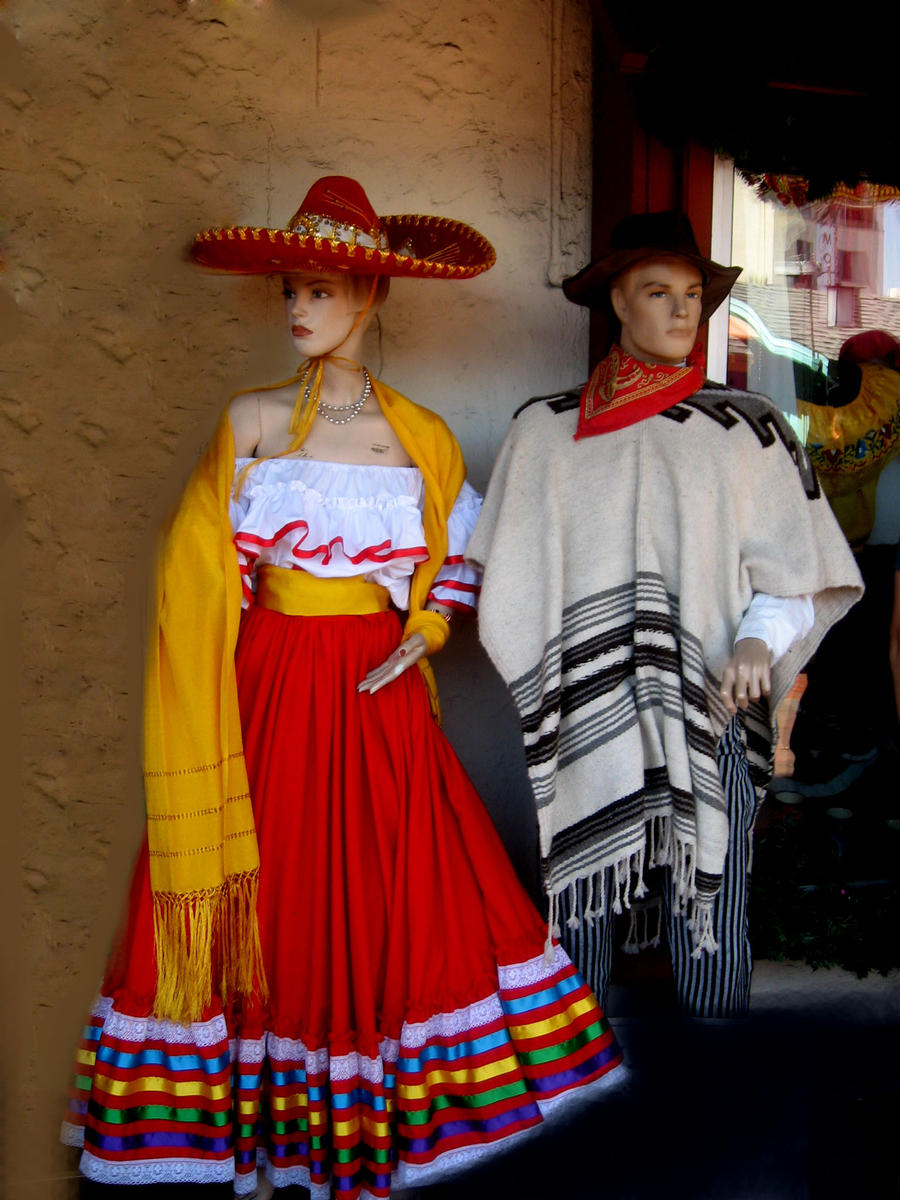 traditional mexican clothing by ritaflowers on deviantart
