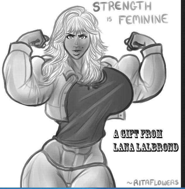 strength is feminine by ritaflowers