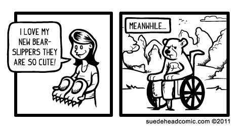 bearalyzed by suedeheadcomic