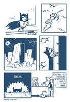 The Bark Knight by suedeheadcomic