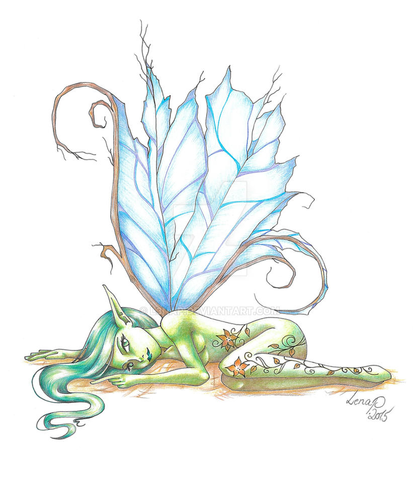 Green Spirit by RagnaRayden