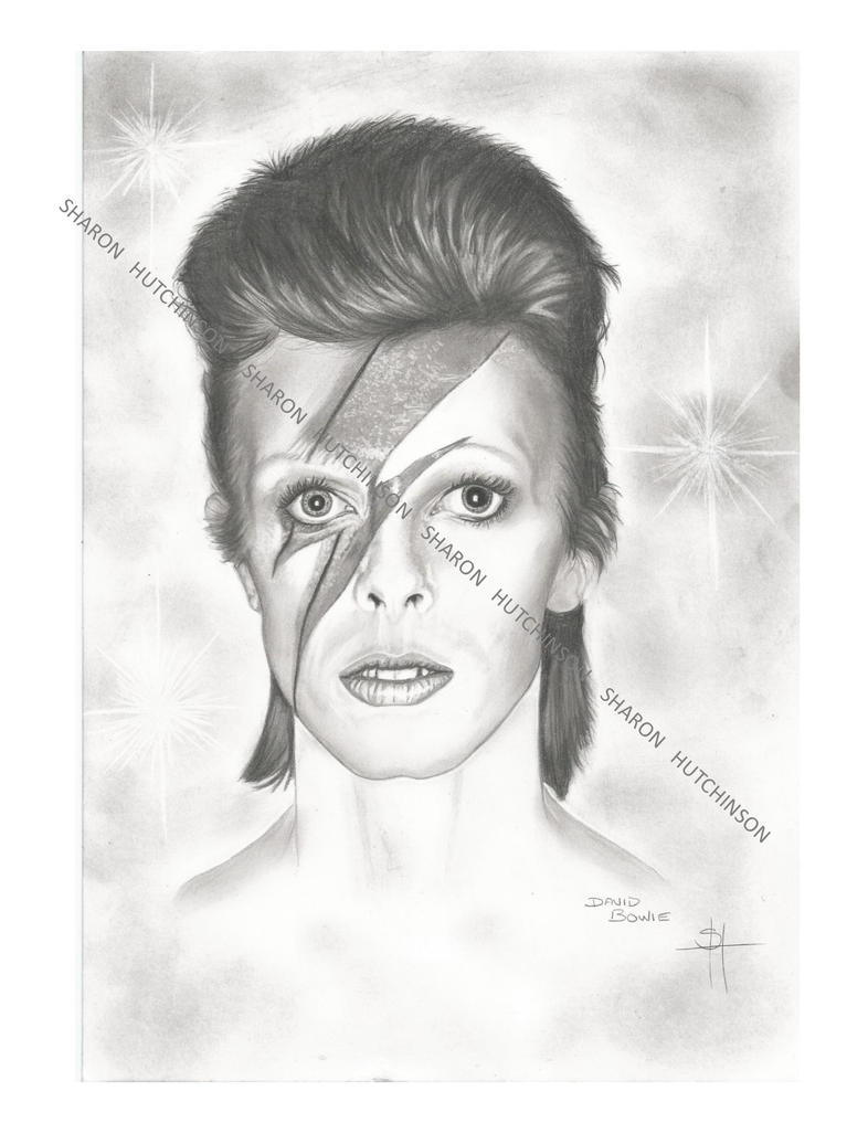 David Bowie....my tibute to Dave Bowie by Shazhutch