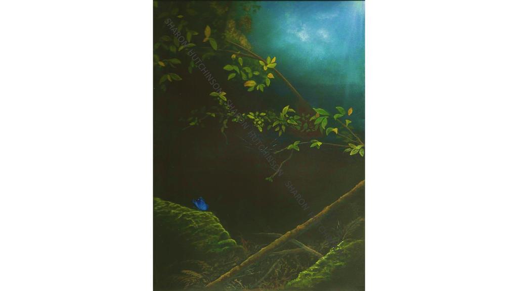 Japanese Mountian Scene by Shazhutch