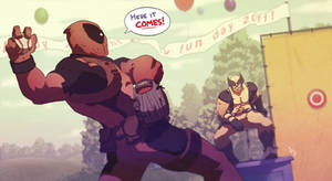 Happy Mutant  Family Fun Day by Sethard