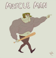 Muscle Man by Sethard