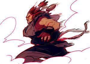 Raging Demon [sketch]