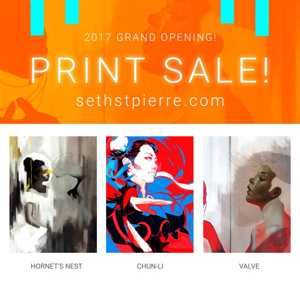 Print Shop Open!!! by Sethard