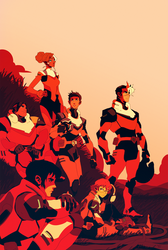 Voltron by Sethard