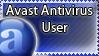 Avast Antivirus User Stamp by palmboompie